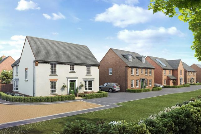 "Thumbnail Detached house for sale in ""Earlswood"" at Warkton Lane, Barton Seagrave, Kettering"