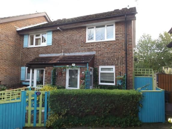 Thumbnail End Terrace House For Sale In Throop Bournemouth Dorset