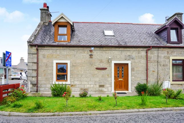 Thumbnail Cottage for sale in Canal Bank, Lossiemouth