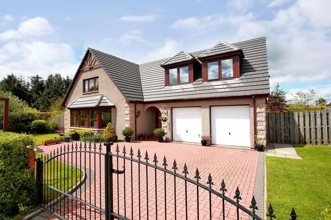 Thumbnail Detached house for sale in Hallwood Park, Midmar, Inverurie