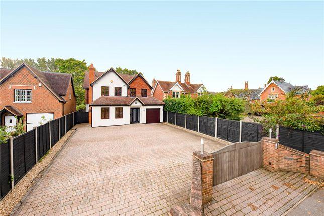 Thumbnail Detached house for sale in Bearwood Road, Sindlesham, Wokingham, Berkshire
