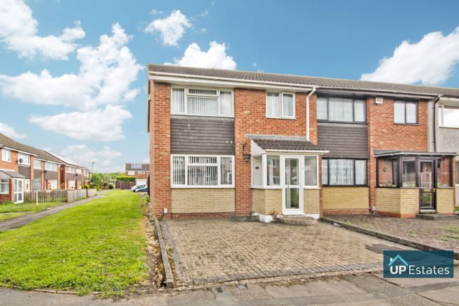 Thumbnail End terrace house for sale in Penarth Grove, Binley, Coventry