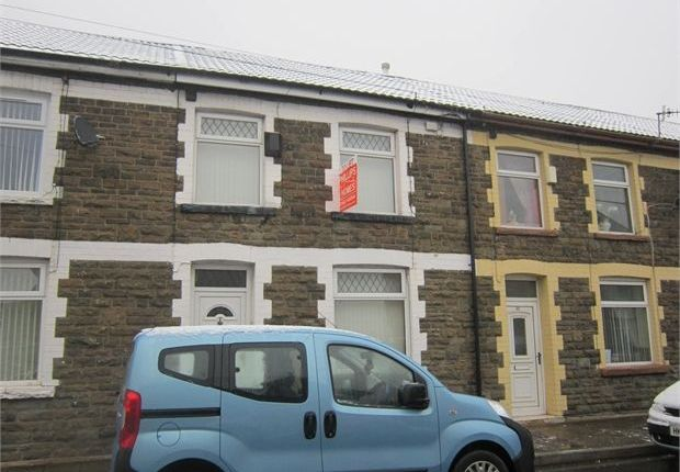 Thumbnail Terraced house to rent in Clydach Road, Clydach Vale, Rhondda Cynon Taff.
