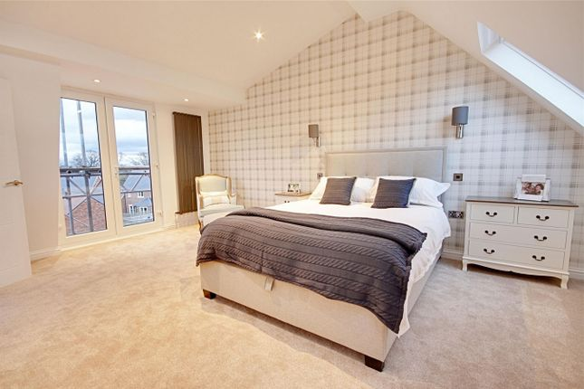 Thumbnail Detached house for sale in Hodgson Way, Gilston, Harlow, Hertfordshire