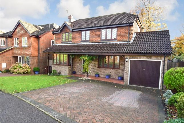 Thumbnail Detached house for sale in Graycoats Drive, Crowborough, East Sussex