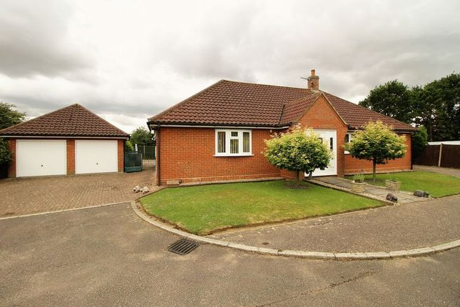 Thumbnail Detached bungalow for sale in Stephen Beaumont Way, Dereham, Norfolk