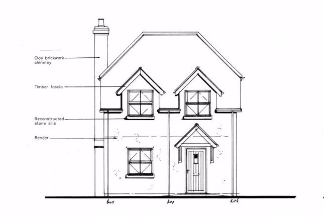 Thumbnail Detached house for sale in Plot 1, High Street, Lidlington