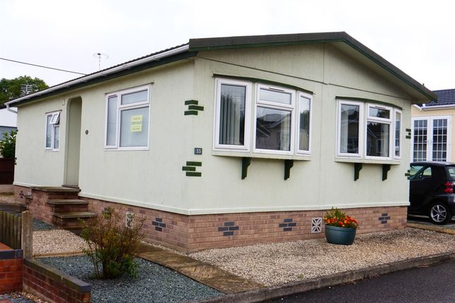 Thumbnail Mobile/park home for sale in Eastfield Park, Tuxford, Newark