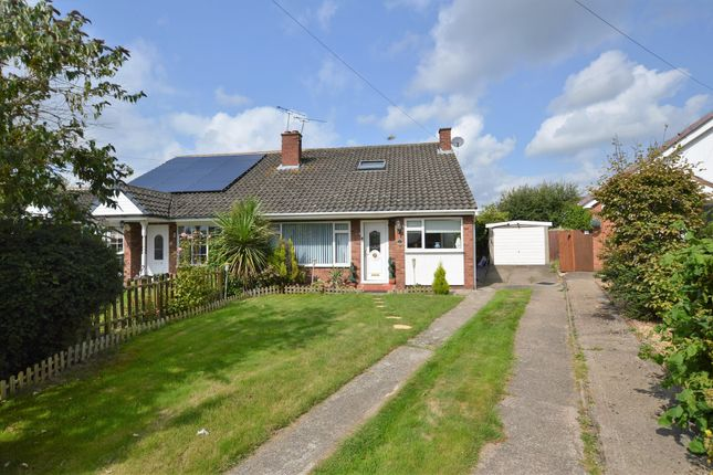 Thumbnail Semi-detached bungalow for sale in Gleneagles Close, Vicars Cross, Chester