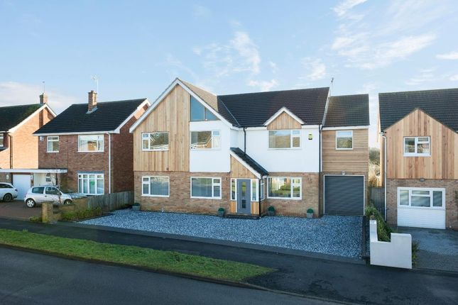 Thumbnail Detached house for sale in Long Furlong, Rugby