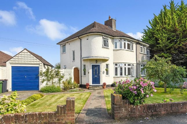 Front Of House of Melrose Crescent, Orpington, Kent BR6