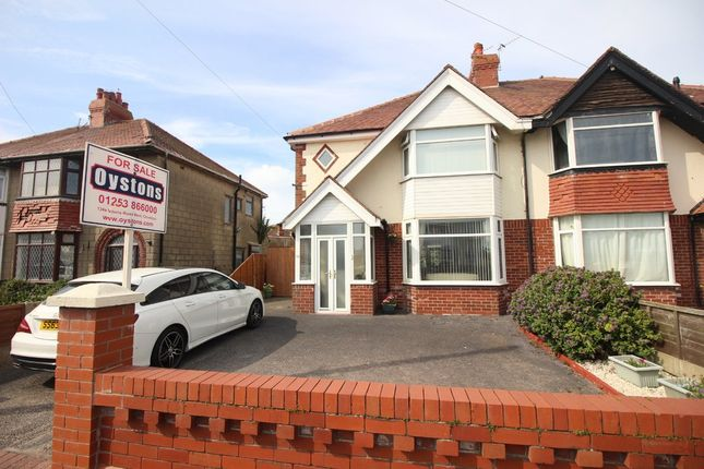 Thumbnail Semi-detached house for sale in Carr Gate, Thornton-Cleveleys