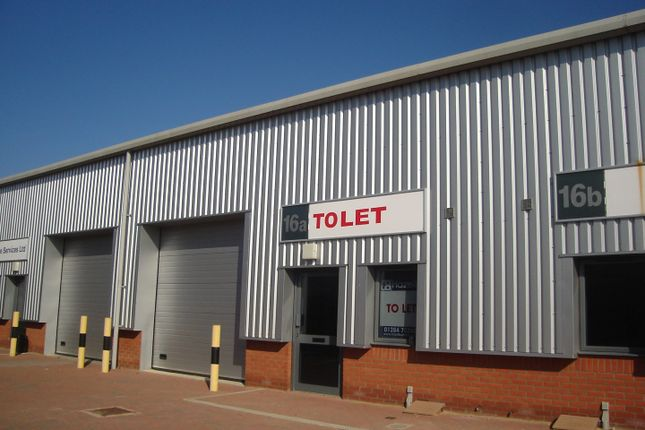 Thumbnail Light industrial to let in Hillside Business Park, Bury St Edmunds