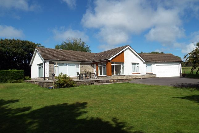 Thumbnail Detached bungalow for sale in The Retreat, Little Reynoldston, Gower, Swansea