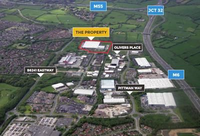 Thumbnail Light industrial to let in Olivers Place, Fulwood, Preston