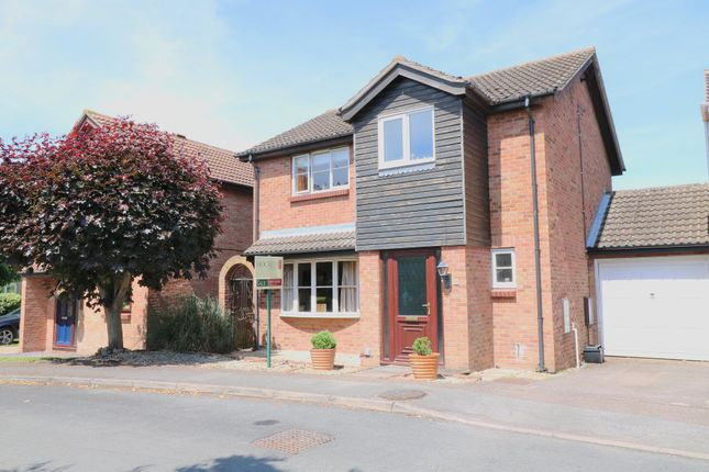Thumbnail Detached house for sale in Balland Field, Willingham, Cambridge