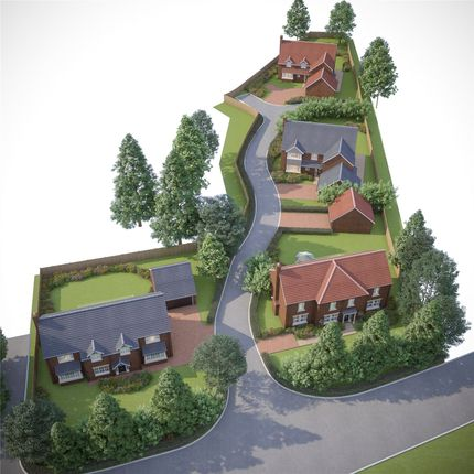 Thumbnail Detached house for sale in Hatterswood Phase 2, Tanhouse Lane, Yate