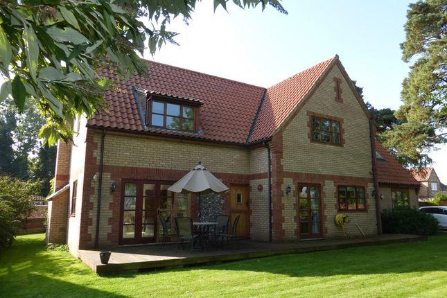 Thumbnail Detached house for sale in Furlong Road, Stoke Ferry, King's Lynn