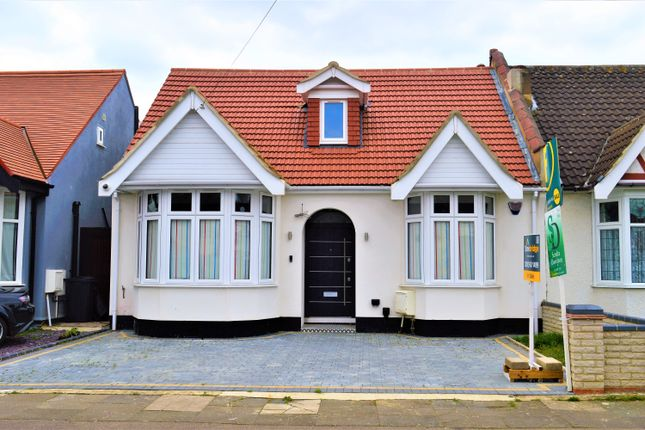 Thumbnail Semi-detached bungalow to rent in Forterie Gardens, Ilford