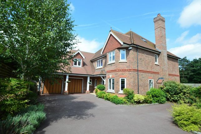Thumbnail Detached house for sale in Finchampstead Road, Finchampstead