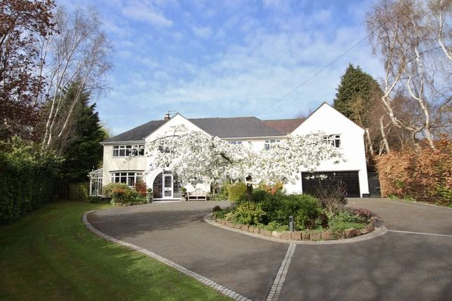 Thumbnail Detached house for sale in Long Hey Road, Caldy, Wirral