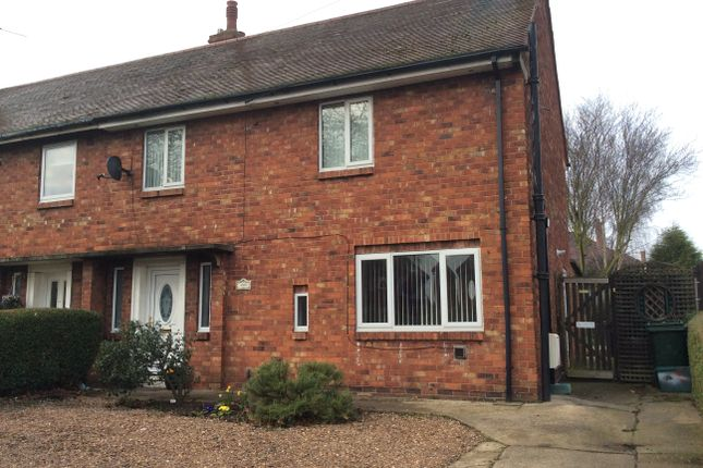 Thumbnail Semi-detached house for sale in Lawn Avenue, Woodlands Doncaster