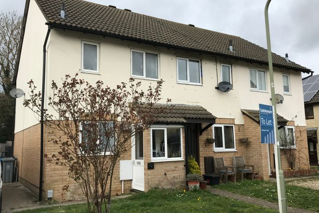 Thumbnail Semi-detached house to rent in Dovehouse Close, Witney, Oxfordshire
