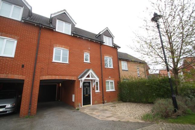 Thumbnail Town house to rent in Lysander Drive, Ipswich, Suffolk