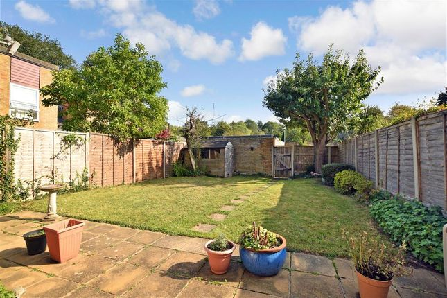 Rear Garden of Knights Croft, New Ash Green, Longfield, Kent DA3