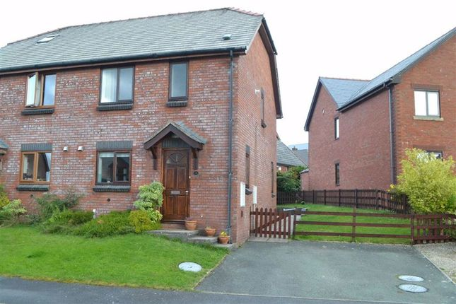 Thumbnail Semi-detached house for sale in 26, Rhos Y Maen Isaf, Llanidloes, Powys