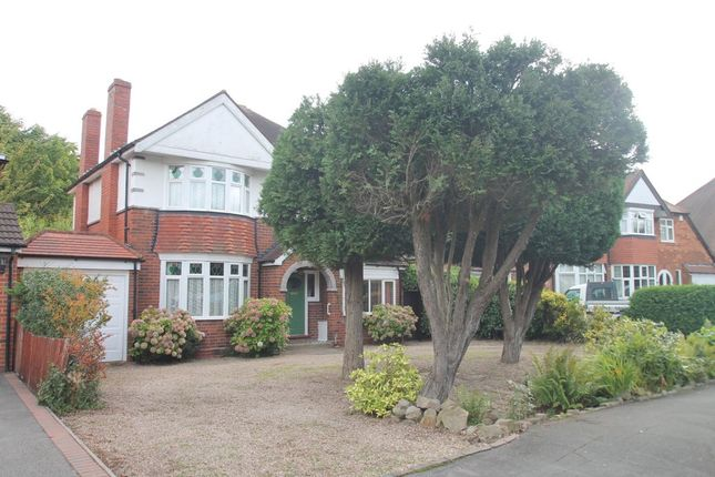 Thumbnail Link-detached house for sale in Reservoir Road, Solihull