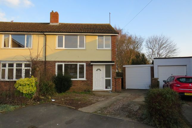 Thumbnail Semi-detached house for sale in Berry Close, Earls Barton, Northampton