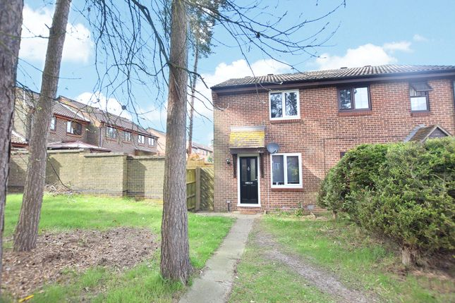 Thumbnail End terrace house to rent in Hythe Close, Forest Park, Bracknell, Berkshire