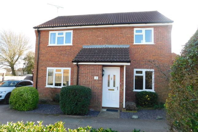 Thumbnail Detached house for sale in Spencer Way, Stowmarket