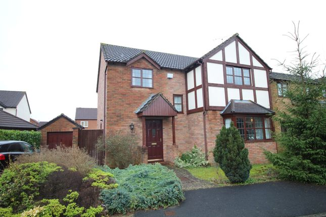 Thumbnail Detached house to rent in Exeter Close, Chippenham