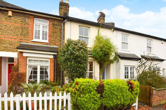 Thumbnail 3 bed terraced house to rent in Shortlands Road, Kingston Upon Thames