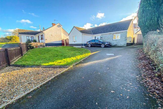 Thumbnail Detached bungalow for sale in Penllyn, Cilgerran, Cardigan