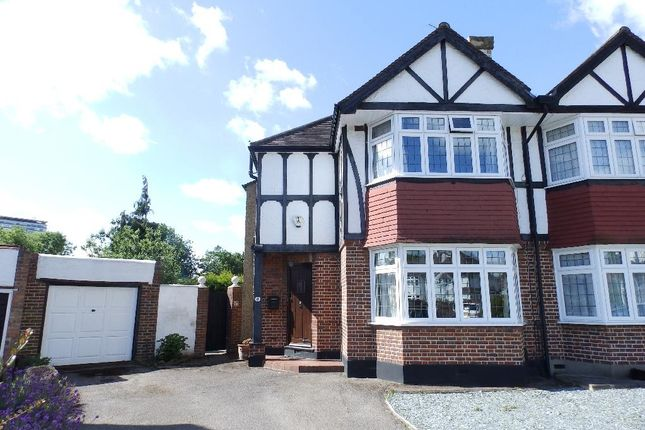 Thumbnail Semi-detached house for sale in Austyn Gardens, Berrylands, Surbiton