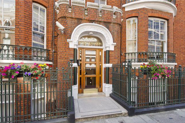 Thumbnail Flat for sale in Portman Mansions, Chiltern Street, Marylebone, London