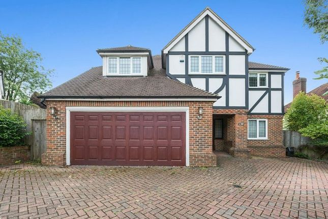 Thumbnail Detached house for sale in Green Curve, Nork, Banstead