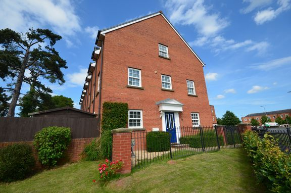 Thumbnail End terrace house for sale in Marley Close, Tiverton
