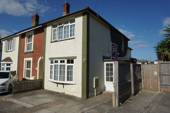 Thumbnail 3 bed end terrace house for sale in Brook Road, Shanklin