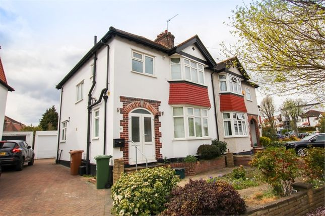 Thumbnail Semi-detached house to rent in Iberian Avenue, Wallington