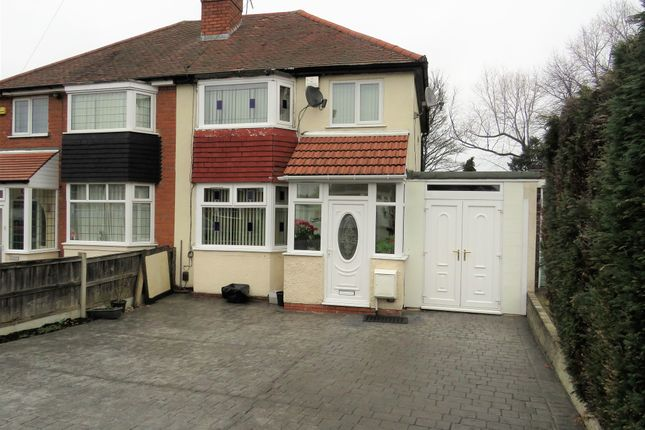 Thumbnail Semi-detached house for sale in Londonderry Grove, Smethwick
