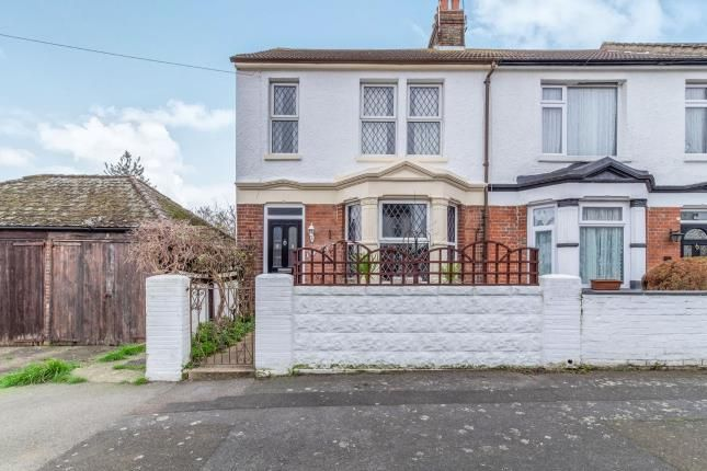 Thumbnail End terrace house for sale in Glebe Road, Gillingham, Kent