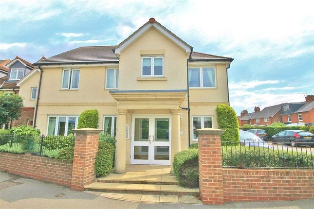 Thumbnail Flat for sale in Matthews Lodge, Station Road, Addlestone, Surrey
