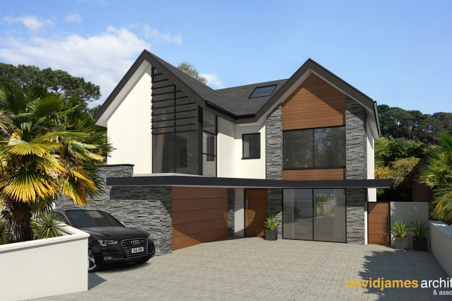 Thumbnail Detached house for sale in Compton Avenue, Poole, Dorset