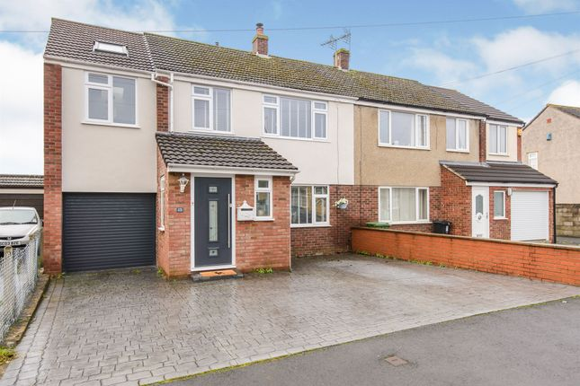 Thumbnail Semi-detached house for sale in Henfield Crescent, Oldland Common, Bristol