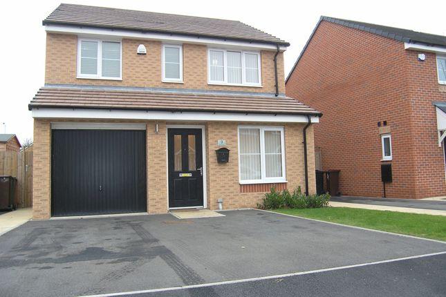 Thumbnail Detached house for sale in School Avenue, Off Lichfield Road, Wednesfield