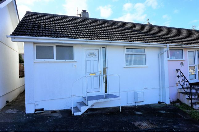 Thumbnail Semi-detached bungalow for sale in Century Court, Newquay